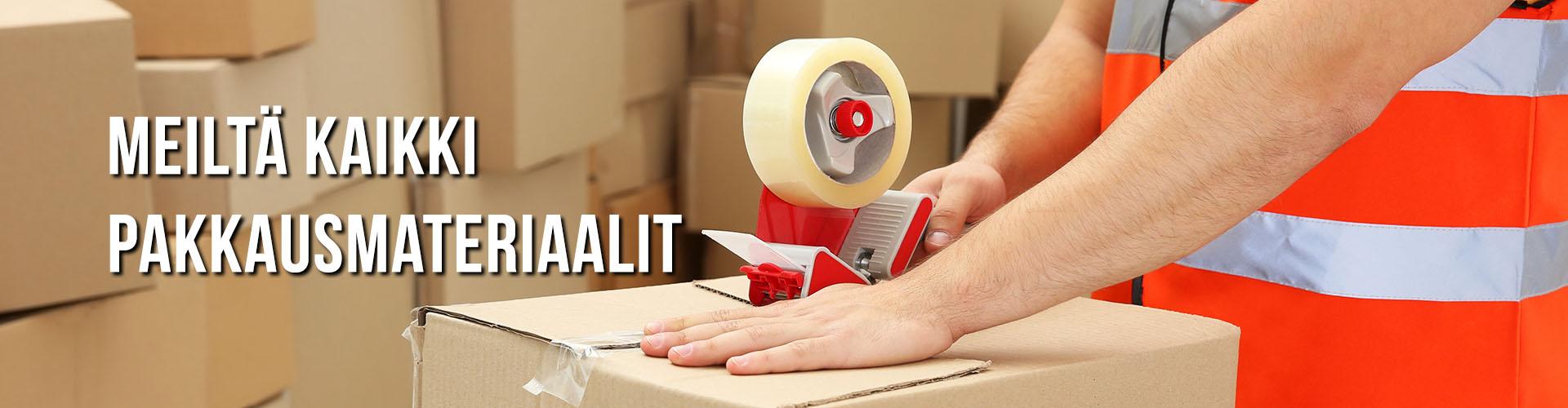 Kaikki pakkausmateriaalit ja tarvikkeet - MJ Pakkaus Oy